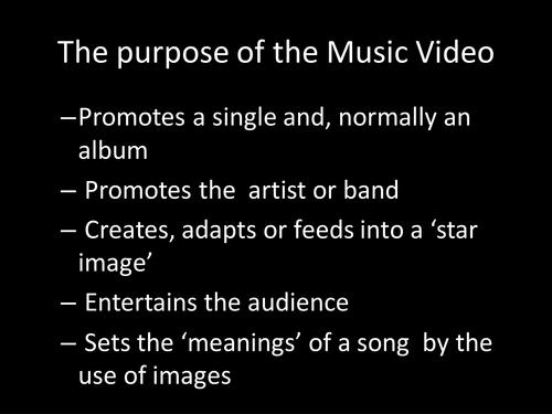 Music Video Genre