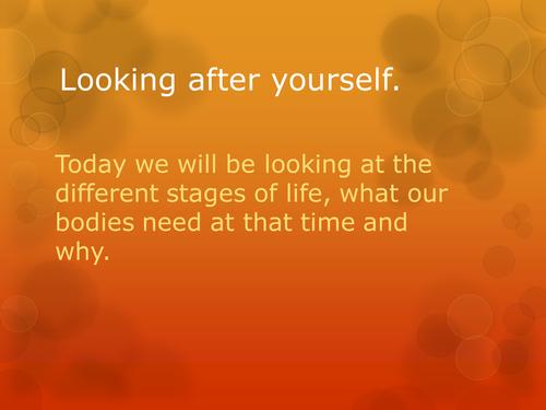 Make a Life Stages Presentation