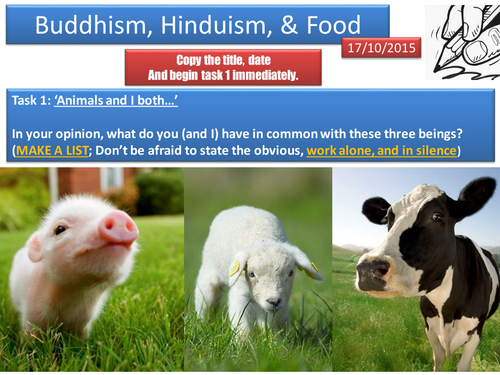 Vegetarianism in Buddhism and Hinduism