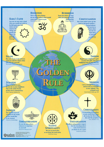 The Golden Rule in World Religion - Handout