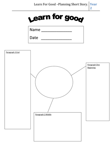 Story Planning Worksheet