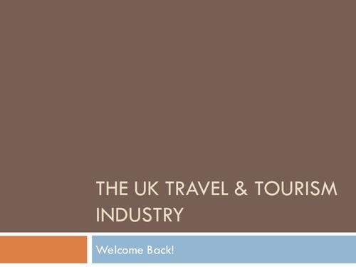 BTEC Level 2 Unit 1 Travel and Tourism