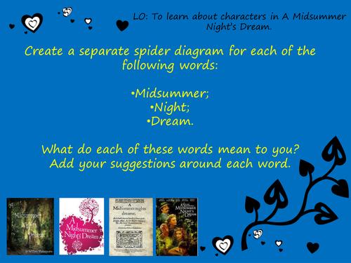 Powerpoint Scheme: A Midsummer Night's Dream