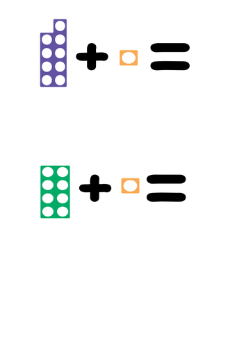 Numicon Addition and subtraction to 10