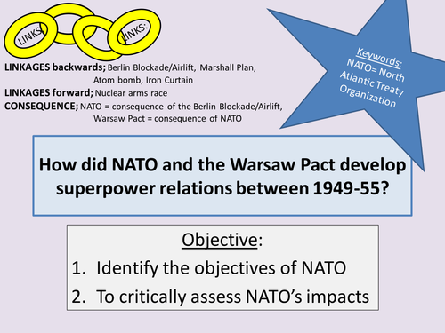 How Did Nato And The Warsaw Pact Develop Tensions By Ccking