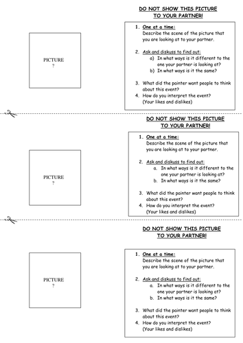 compare and contrast template pdf
