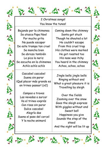 2 Christmas songs