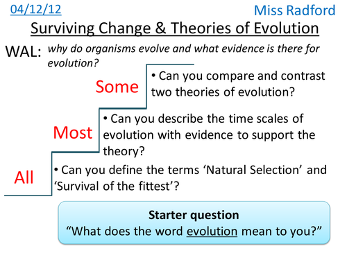B12 Surviving Change Evolutionary Theories By Hannahradford