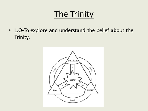 Agapegeek Teachings On The Trinity: God As Unity And Trinity By