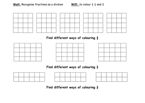 selection of fraction worksheets by gepocock teaching resources. Black Bedroom Furniture Sets. Home Design Ideas