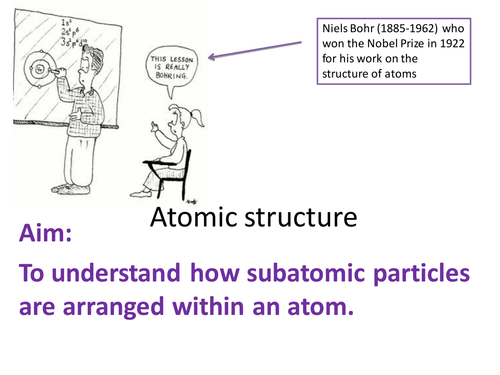 rules of atomic structure