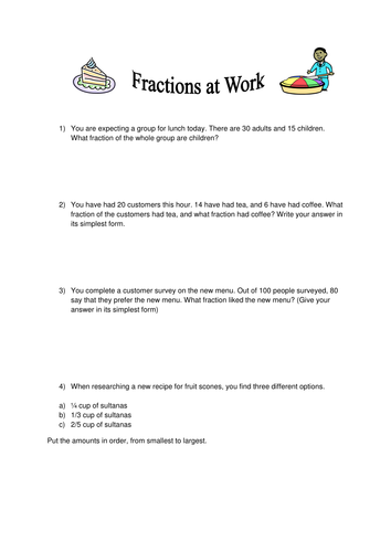 Fraction and Decimal Resources