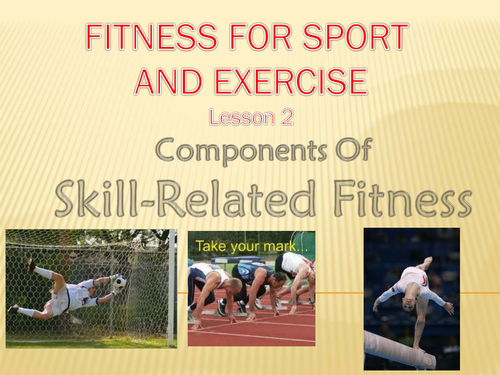 Skill Related Fitness Powerpoint