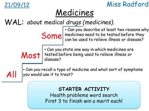 B1.1 Medical Drugs for SEN