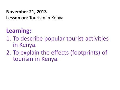 Tourism in Kenya
