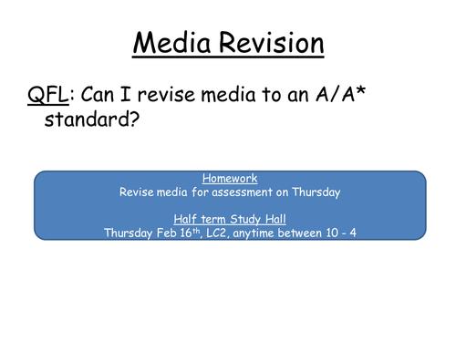 Mass Media revision pp