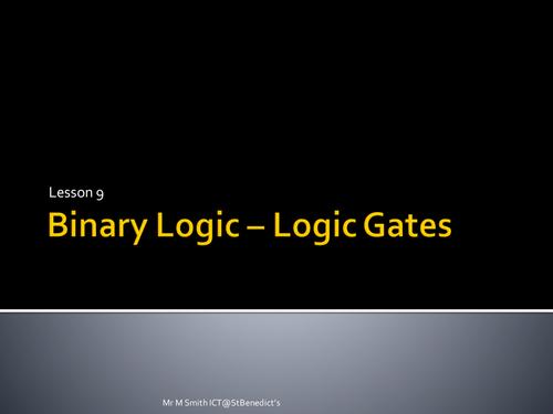 GCSE Computing - Lesson 8