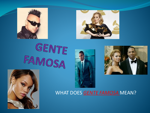 spanish  gente famosa
