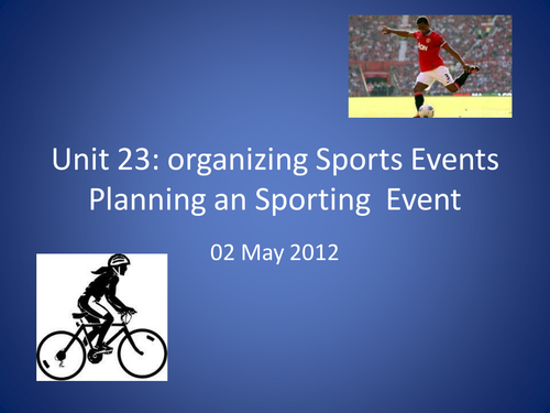 Planning an Event