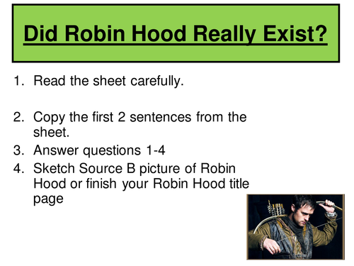Who was Robin Hood?