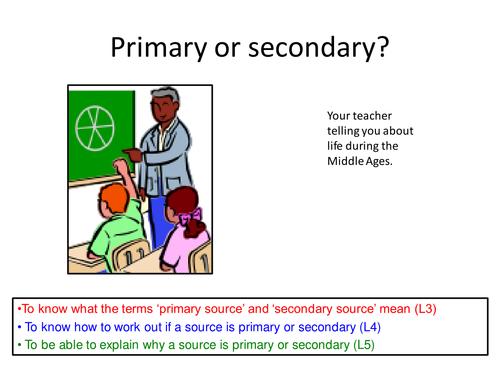 Primary or Secondary Starter / Plenary