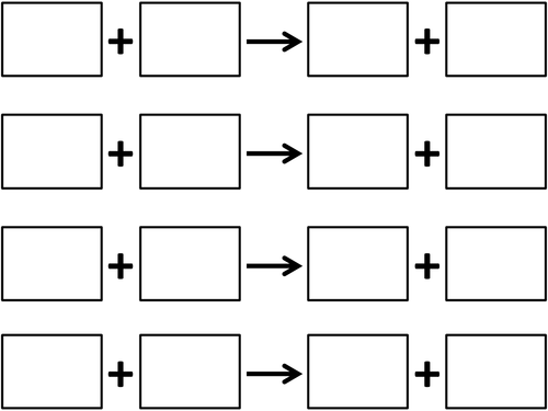 Templates for chemical reactions